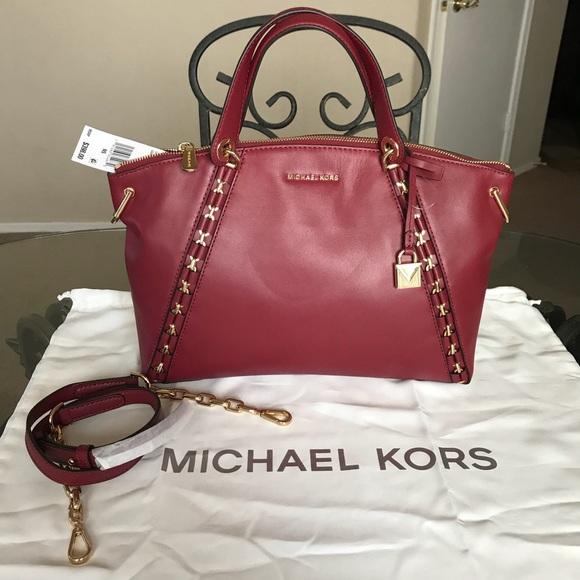 f0aec8d7d6580f Michael Kors Bags | Mk Large Sadie Satchel | Poshmark
